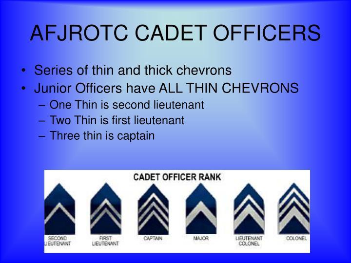 AFJROTC CADET OFFICERS