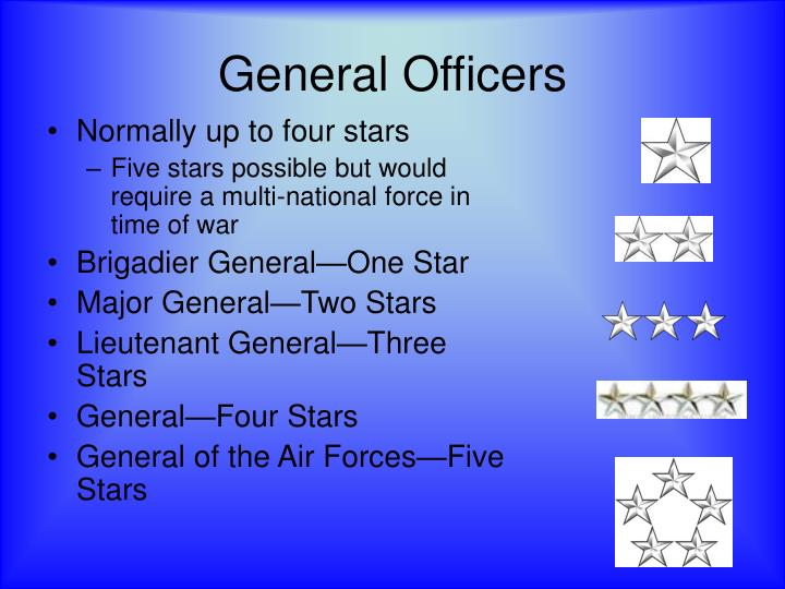 General Officers