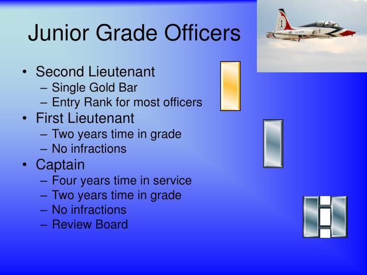 Junior Grade Officers