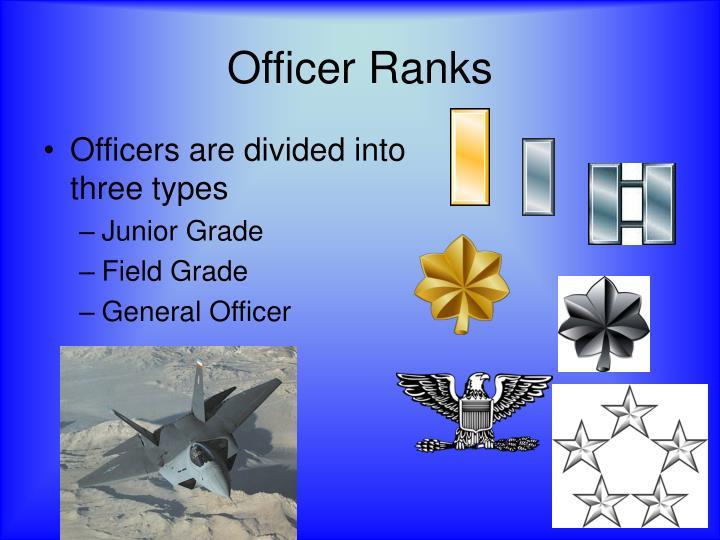 Officer Ranks