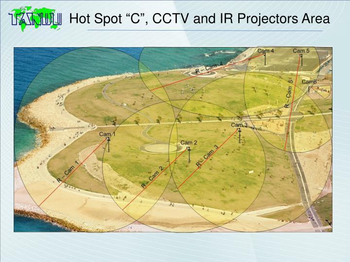 """Hot Spot """"C"""", CCTV and IR Projectors Area"""
