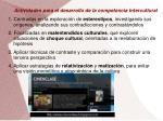 actividades para el desarrollo de la competencia intercultural