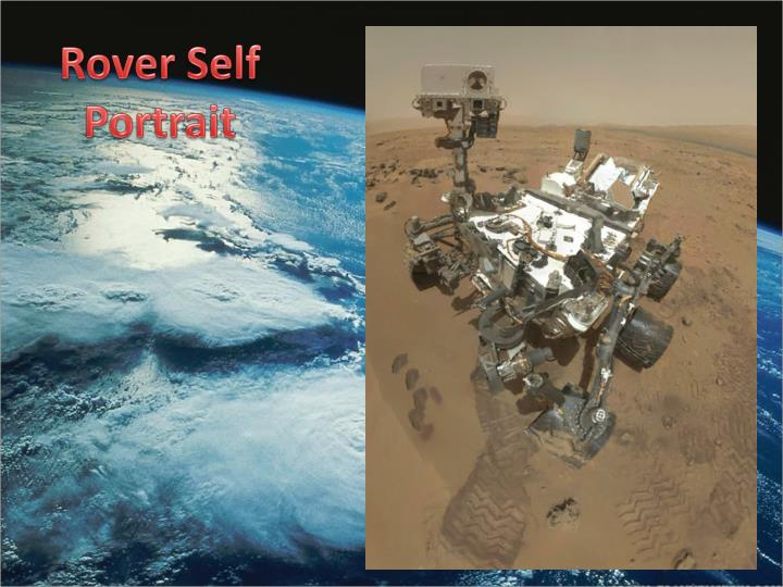 Rover Self Portrait