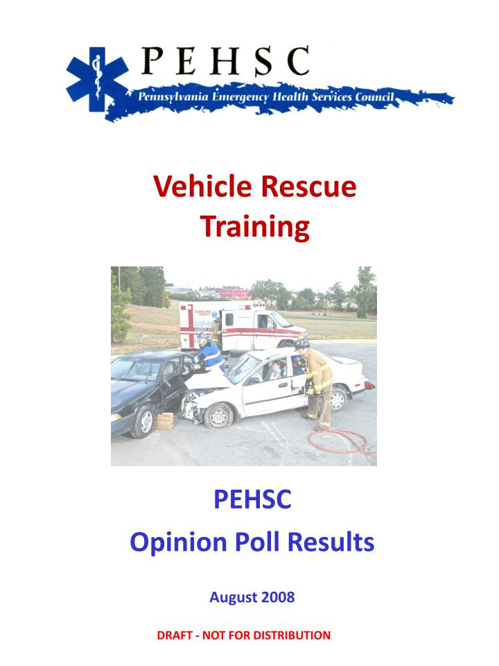 PPT Vehicle Rescue Training PowerPoint Presentation Free