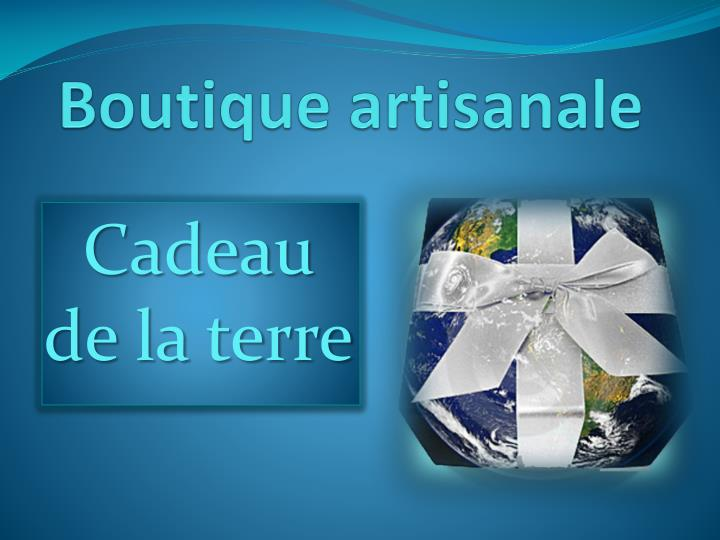 boutique artisanale n.