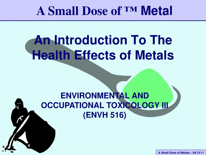 an introduction to the importance of environmental health Integrated safety management provides important opportunities and a high level of attention to environmental protection, safety, health  introduction.
