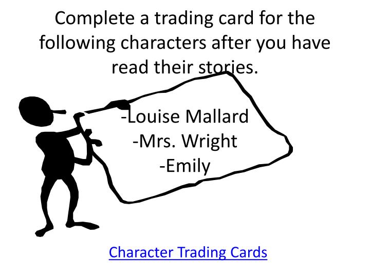 """compare contrast mrs mallard the story of Mrs mallard between the lines mrs mallard:between the lines kate chopin's """"story of an hour"""" proves to be a timeless short story although this story was written in the nineteenth century, it is still reflective and relevant of today's society."""