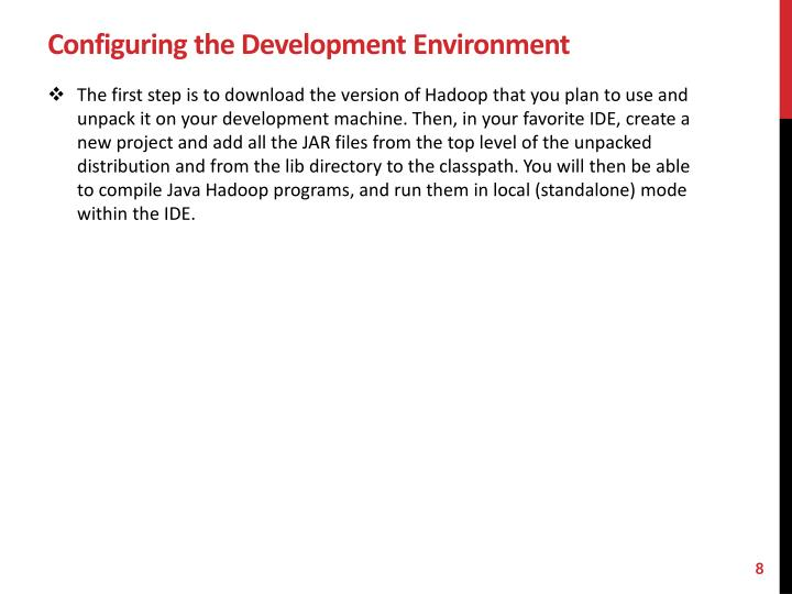 Configuring the Development Environment