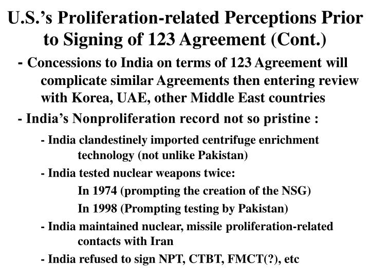 Ppt chaim braun consulting professor center for international uss proliferation related perceptions prior to signing of 123 agreement platinumwayz