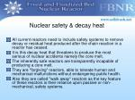 nuclear safety decay heat