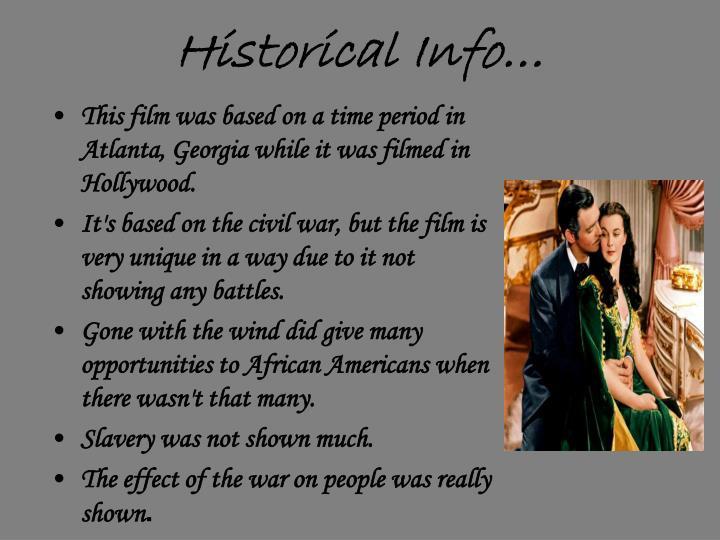 Historical Info…