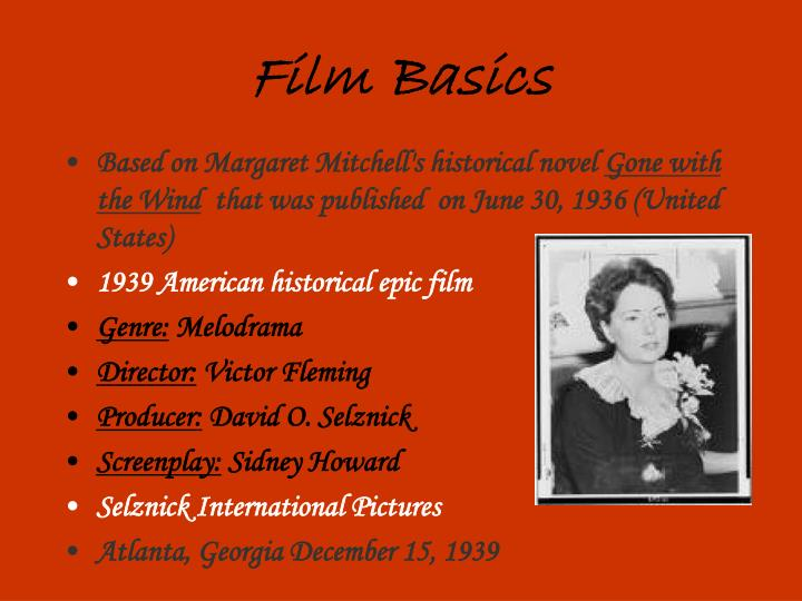 Film Basics