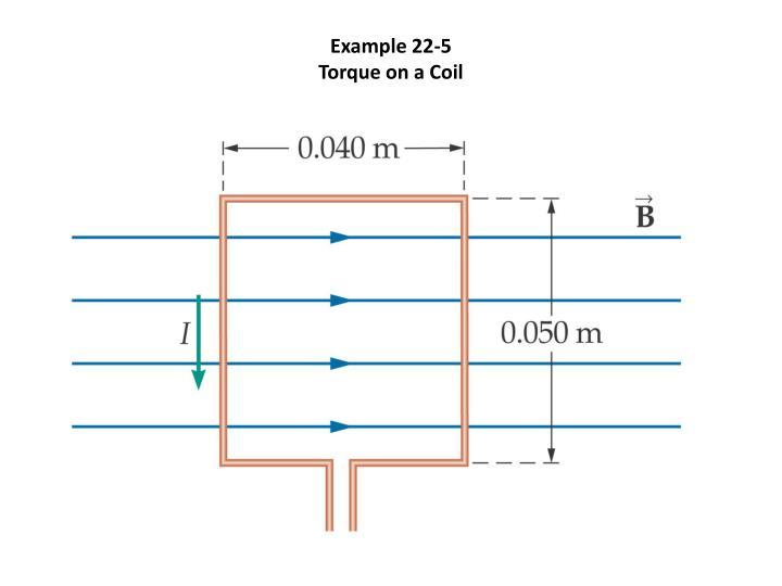 Example 22-5