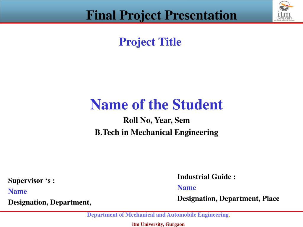 final year project presentation tips - 768×576