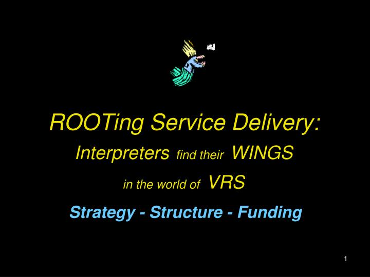 rooting service delivery interpreters find their wings in the world of vrs n.
