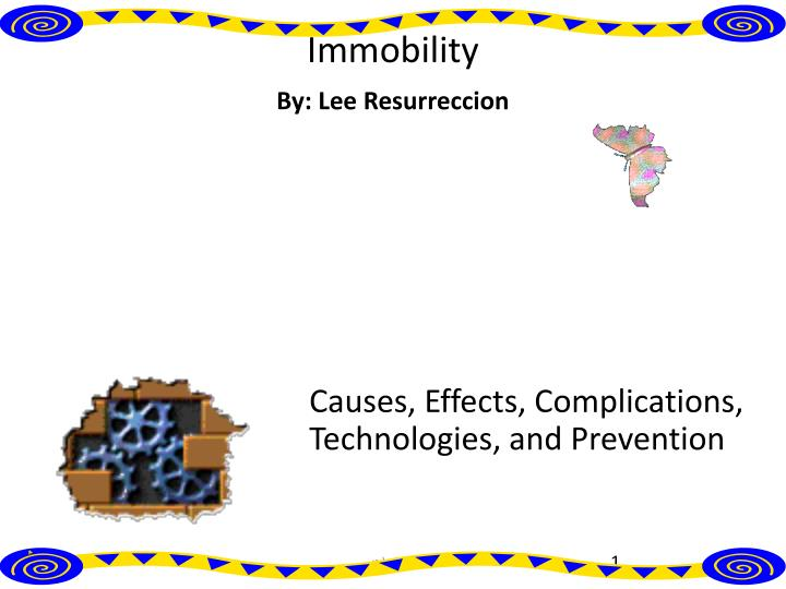 causes effects complications technologies and prevention n.