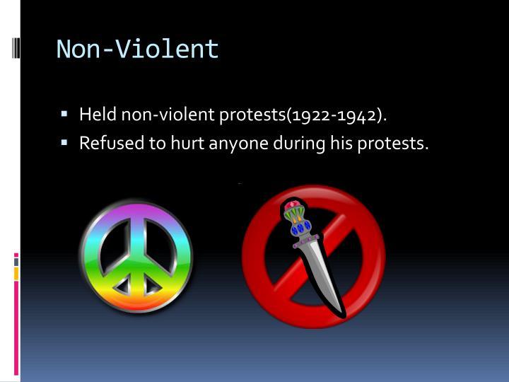 Non-Violent