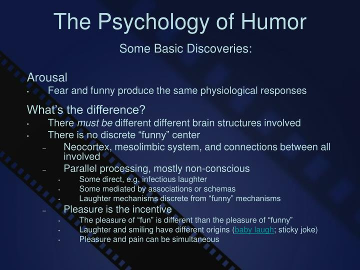 The psychology of humor2