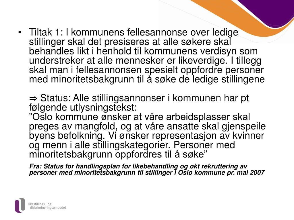 Lønnstrinn oslo kommune 2020
