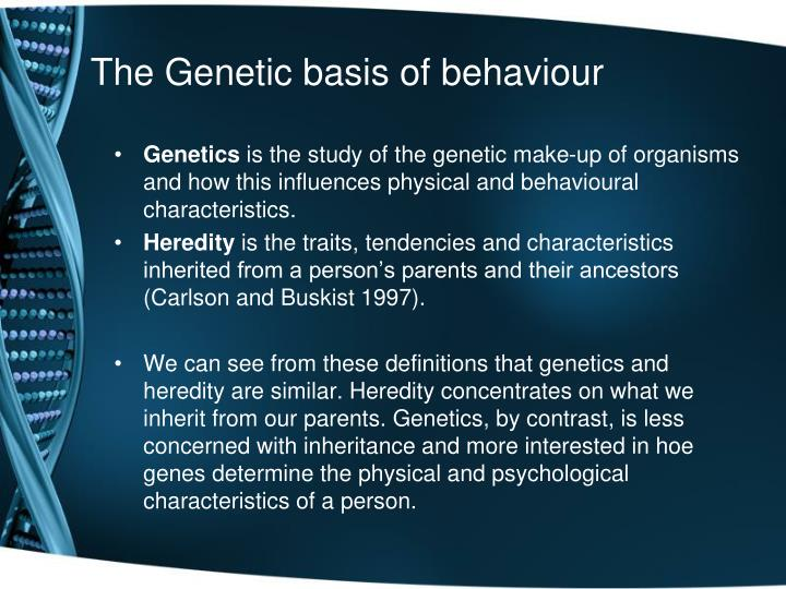 the genetic basis of determining alcoholism essay Alcoholism nature vs nurture a person with a genetic propensity to like alcohol might enjoy that steering clear of those who drink to excess on a regular basis.