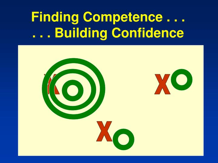 Finding Competence . . .
