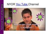 nyor you tube channel