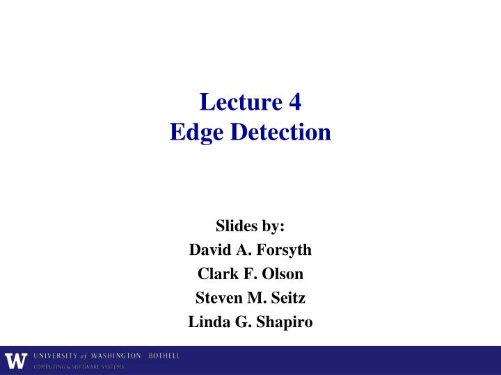 lecture 4 edge detection n.
