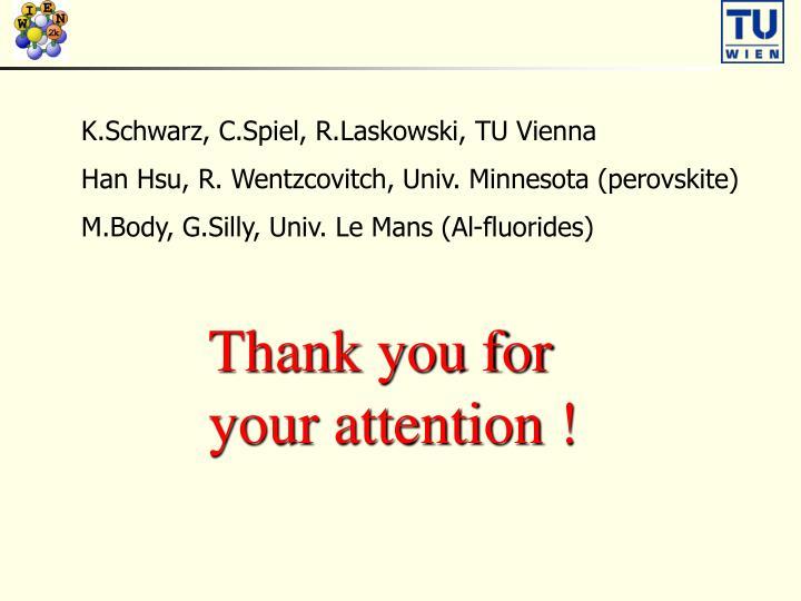 K.Schwarz, C.Spiel, R.Laskowski, TU Vienna