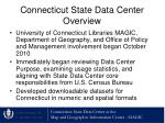 connecticut state data center overview