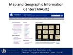 map and geographic information center magic