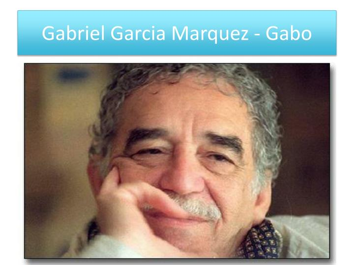 one of these days by gabriel garcia marquez These themes in the works of gabriel garcia marquez are represented as being at once unified as well as inexorably at odds in many of his stories, gabriel garcia marquez makes theme seem mutable and in true epic fashion, he can meld together the past, present, and future to formulate a statement about his political, cultural, or social beliefs.