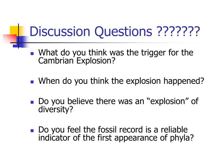 Discussion Questions ???????