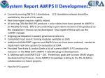 system report awips ii developments1