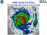 viirs i band 5 at 375m tc funso sw indian ocean on 25 jan 2012