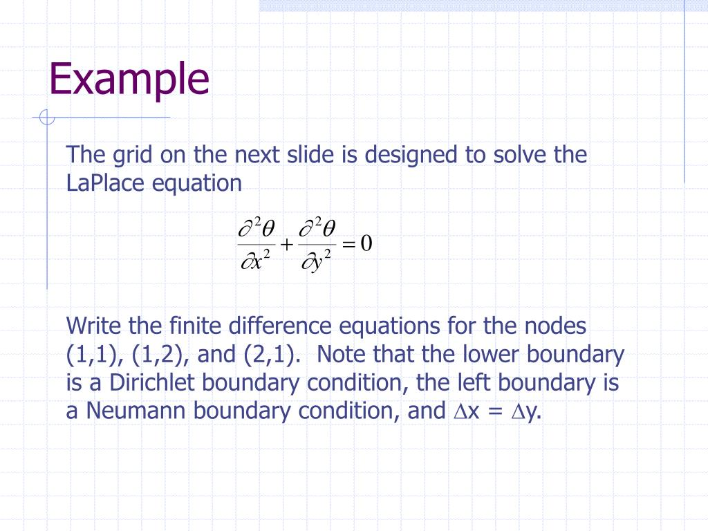 PPT - PARTIAL DIFFERENTIAL EQUATIONS Student Notes
