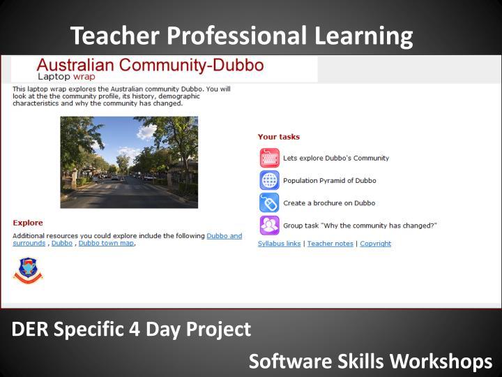 Teacher Professional Learning