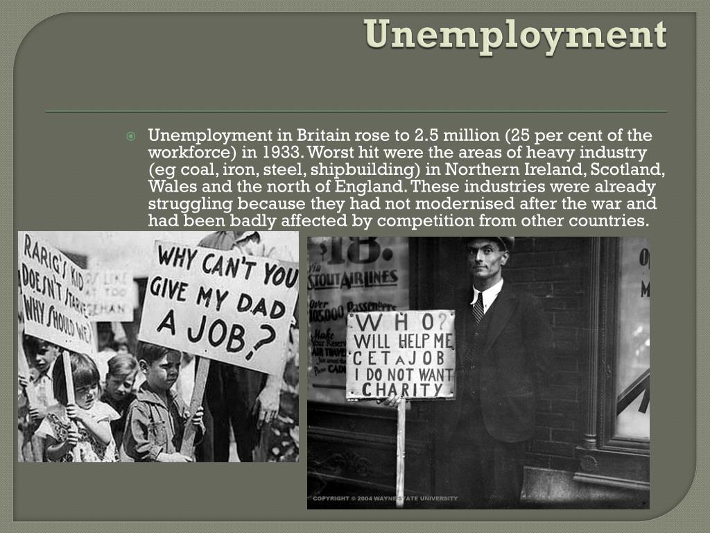 PPT - The Great Depression of 1930 PowerPoint Presentation ...