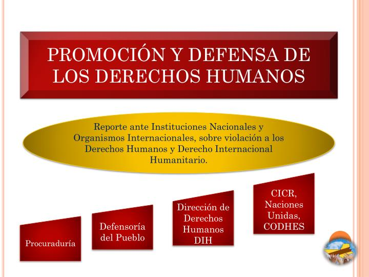 PROMOCIÓN Y DEFENSA DE LOS DERECHOS HUMANOS
