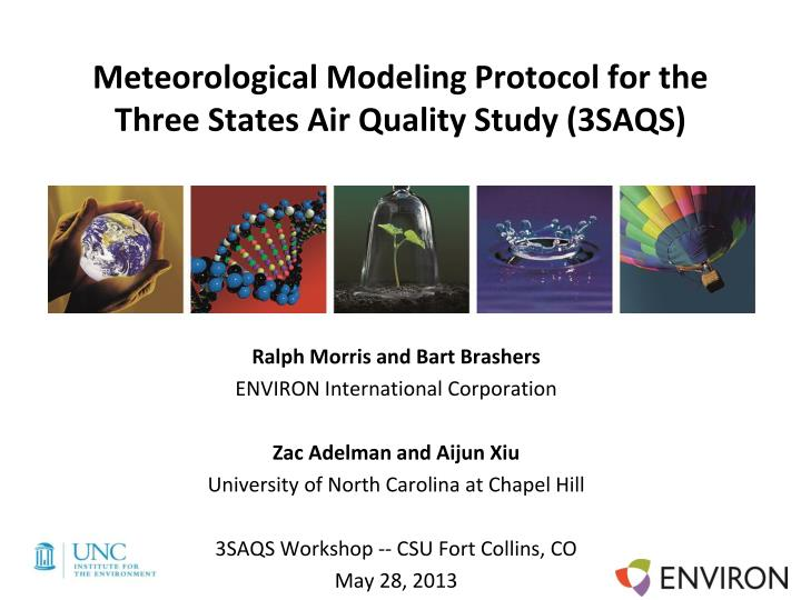 meteorological modeling protocol for the three states air quality study 3saqs n.