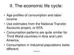 ii the economic life cycle