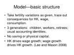 model basic structure