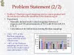 problem statement 2 2