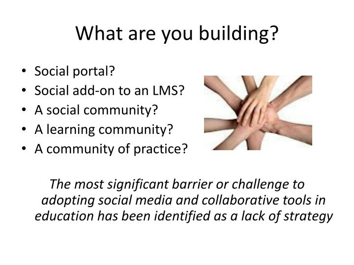What are you building?