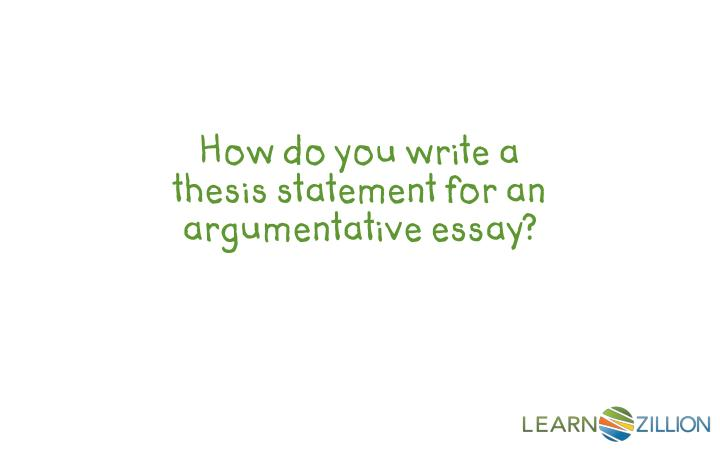 how do i write a thesis statement A thesis can be found in many places—a debate speech, a lawyer's closing argument, even an advertisement but the most common place for a thesis statement (and probably why you're reading this article) is in an essay.
