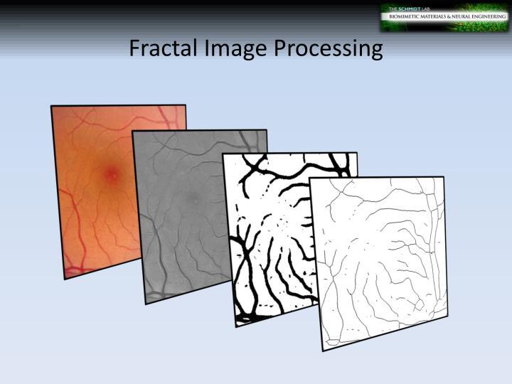 Fractal Image Processing