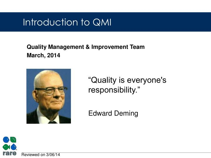 quality management improvement team march 2014 n.