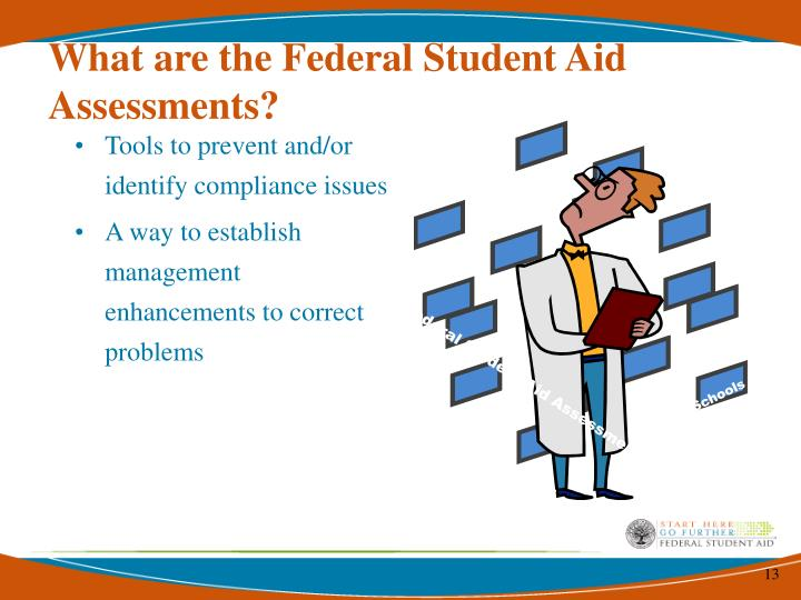 What are the Federal Student Aid Assessments?
