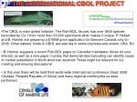 the international cbol project