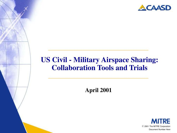 us civil military airspace sharing collaboration tools and trials n.