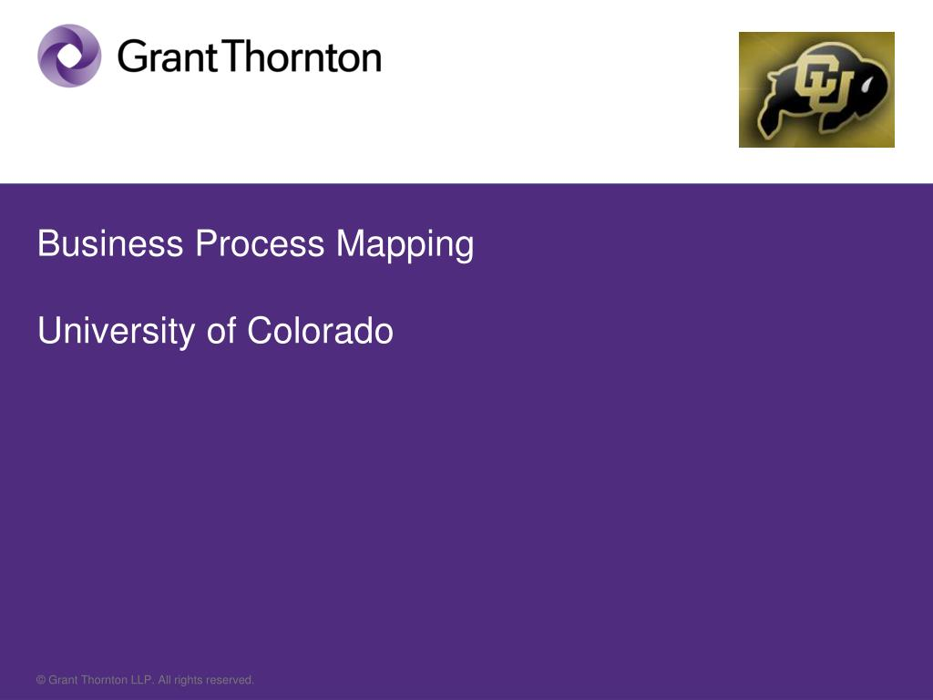 business process mapping university of colorado - Business Process Mapping Ppt
